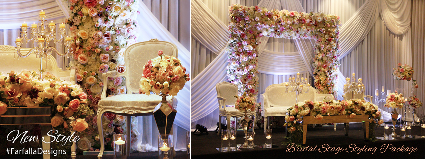 Bridal Stage Styling Package