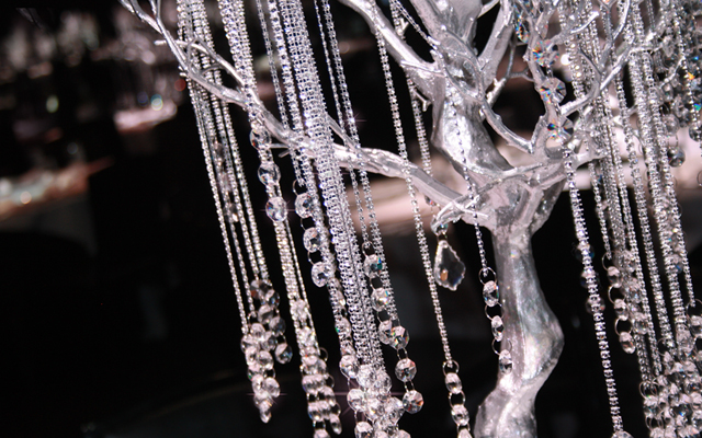 Crystal Tree Centrepieces
